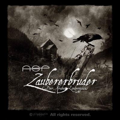 """ASP Album-Cover """"Zaubererbruder – Der Krabat-Liederzyklus"""""""