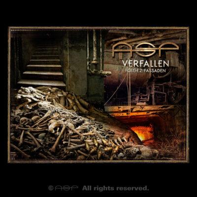 """ASP Album-Cover """"Verfallen 2: Fassaden"""""""