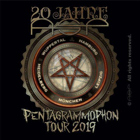 20 Jahre ASP –Pentagrammophon-Tour 2019